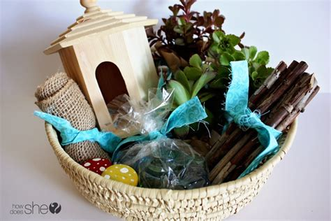 Garden Gift Basket Ideas Craftionary