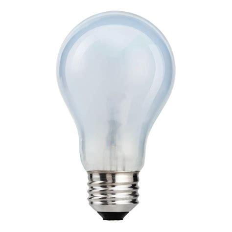 Ac 3 4 Pk Watt ecosmart 60 watt equivalent a19 led light bulb soft white 4 pack 304071 the home depot