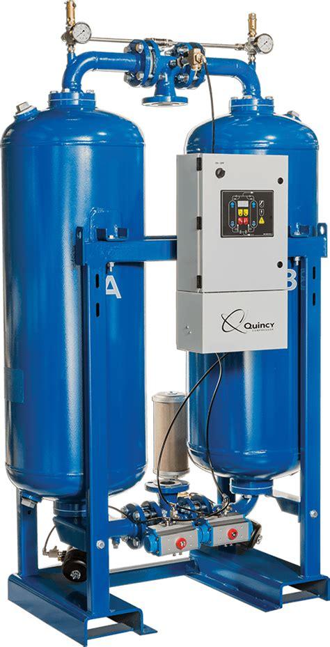 desiccant air dryer system quincy compressor