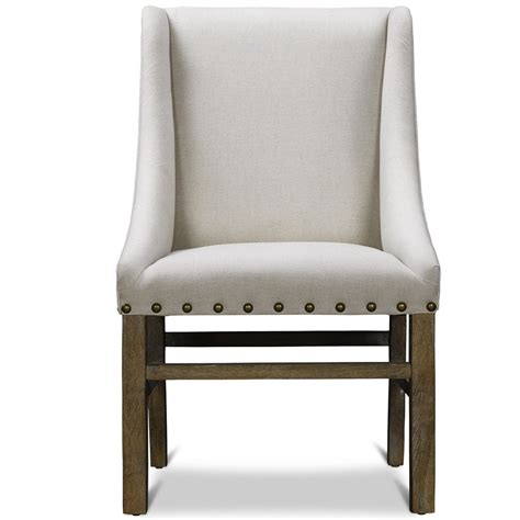 chairman upholstery white upholstered dining chair displaying infinite