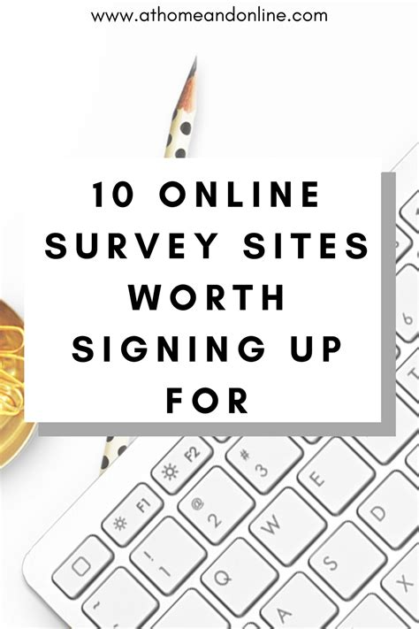 Completing Online Surveys For Money - the top 10 places to complete online surveys for money