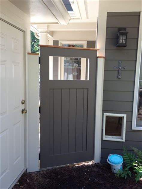 solid wood exterior door  garden gate  david