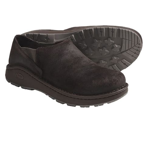 chaco zoggonit shoes leather slip ons for save 26
