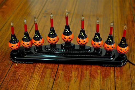 christopher radko halloween bubble lights i mockery com the radko shiny brite pumpkin candolier