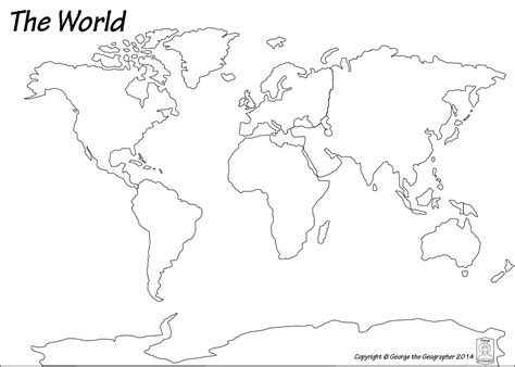 printable blank world map pdf image result for black and white map of the world pdf