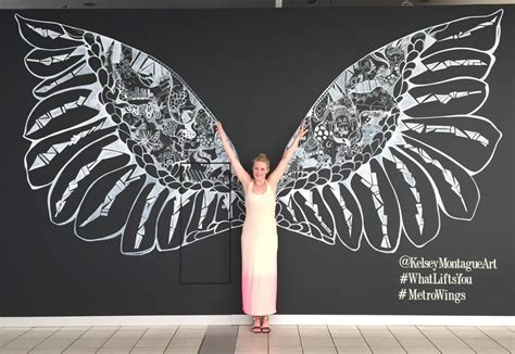 Angel Wall Murals the what lifts you campaign kelsey montague art