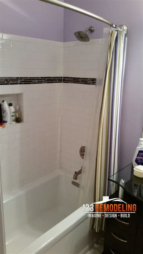 bathroom in north high rise condo bathroom remodel 630 n state st chicago