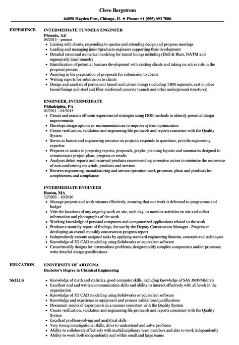 chemical engineer resume sle sle chemical engineering resume biodata format for