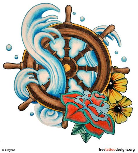 old school ship tattoo designs 25 best ideas about ship wheel on