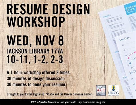 Resume Workshop by Resume Design Workshop Nov 8