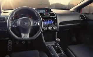 Subaru Sti Interior 2017 Subaru Wrx Wrx Sti Specs Price Release Date