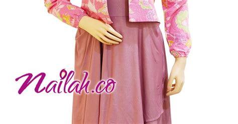 Gamis Dress Pink Katun Jepang baju muslim cantik gamis pesta batik pink d style muslim kebaya and