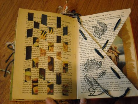 Craftybellydancer More Altered Book Pages