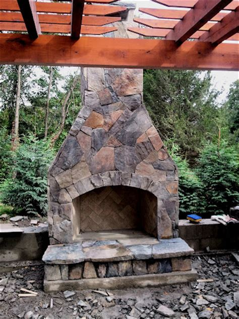 building outdoor fireplace 12 outdoor fireplace plans add warmth and ambience to