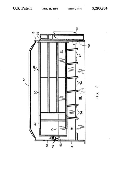 large crate dimensions patent us5293834 hog farrowing crate and pen patents