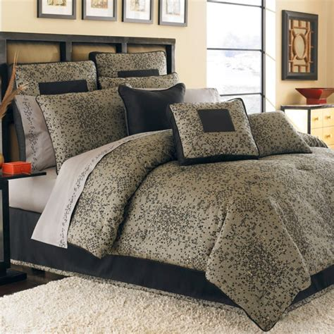 Black And Gold Comforters by Black Gold Bedding Black Gold