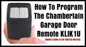How To Program Chamberlain Garage Door Opener by Shelfmediaget