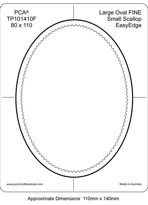 oval shaped card template best photos of large oval template frame winter borders