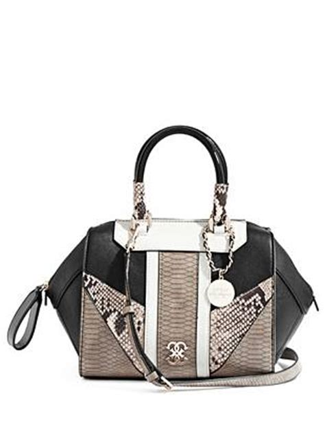 Guess Paxton 102 smooth and embossed textures and an python print