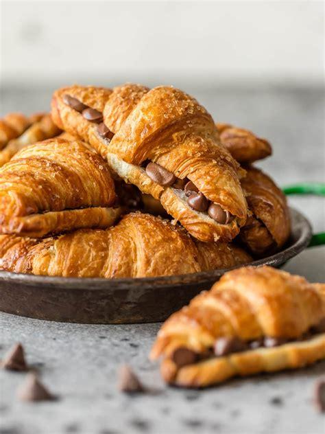 Croissant Coklat sheet pan chocolate croissant recipe the cookie rookie 174