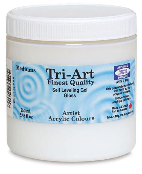 Acrylic Gel Medium tri finest self leveling gel medium blick materials