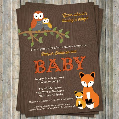 woodland baby showers on rustic baby showers - Woodland Baby Shower