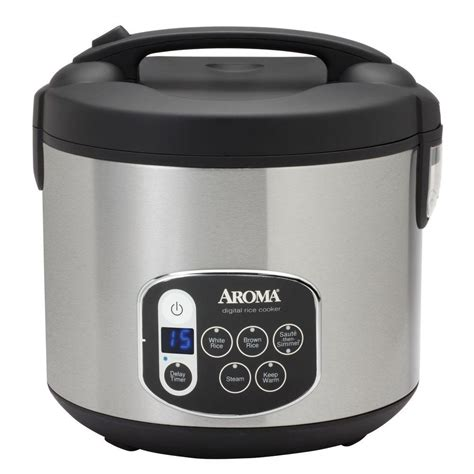 Rice Cooker Digital aroma rice cookers steamers 20 cup cooked digital cool