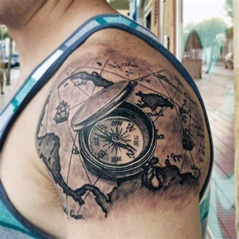 compass tattoo vorlagen 17 besten kompass bilder auf pinterest karten tattoos
