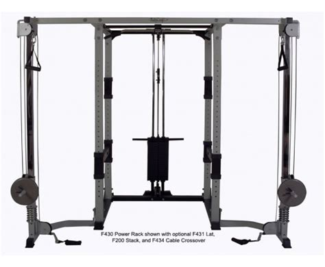 f430 power rack for free weights bodycraft
