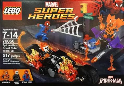 Lego Marvel Heroes 76058 Spidermanghost Rider Team Up Set lego news march 14 2016 breaking dads
