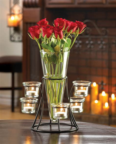 Vases Centerpieces by Circular Candle Stand Centerpiece Vase Wholesale At