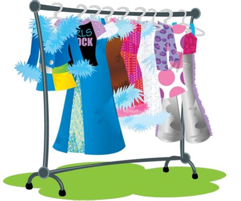 Clothing Rack Clipart by Clothing Rail Clipart