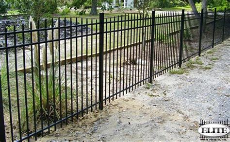 fencing sections efs 55 elite ornamental aluminum fences discount fence
