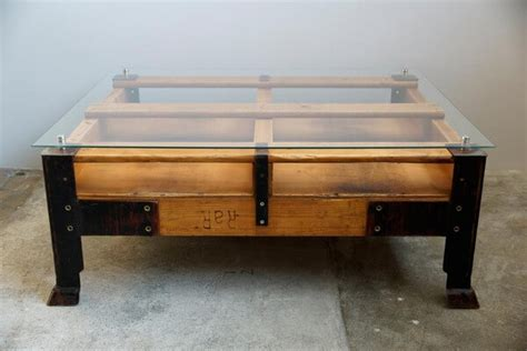 modern wooden pallet coffee table plans pallets designs