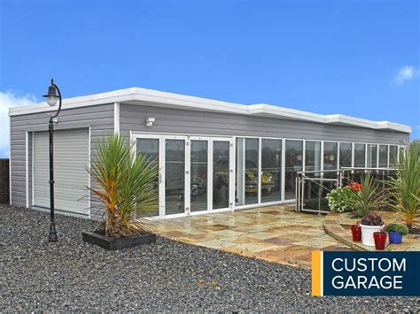 custom garage steel garages garages ireland metal garages garages