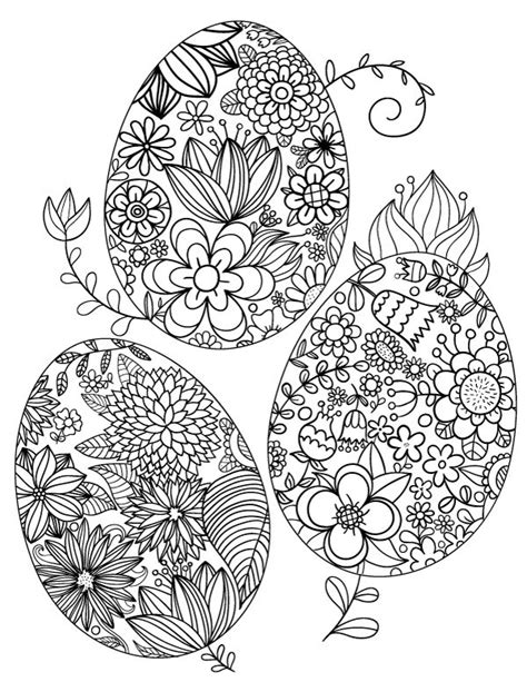 easter egg coloring pages pdf 92 best adult coloring pages at coloringgarden com images