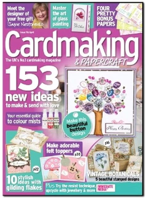 Cardmaking And Papercraft Free Downloads - cardmaking papercraft issue 116 2013 04 pdf