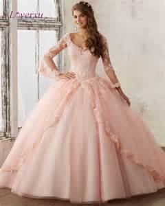 Online Get Cheap Long Sleeve Quinceanera Dresses
