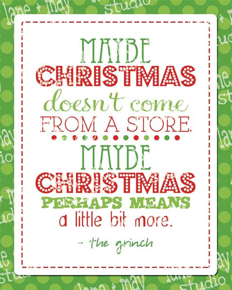 lyric quotes   grinch christmas quotesgram