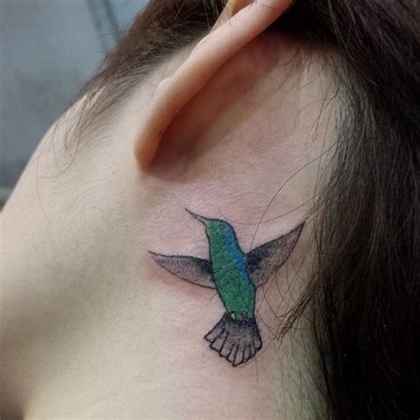 cute behind the ear tattoos tattoo collections