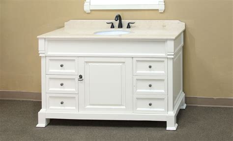 60 inch white bathroom vanity single sink 60 inch traditional single sink vanity by bellaterra home