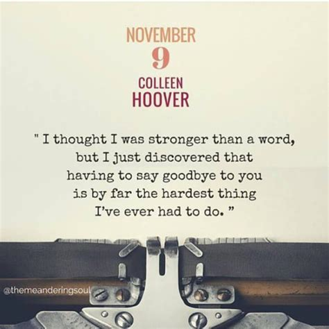 November 9 By Colleen Hoover november 9 by colleen hoover reviews discussion bookclubs lists