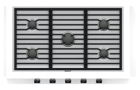36 wolf cooktop wolf 36 quot stainless steel contemporary gas cooktop cg365c s
