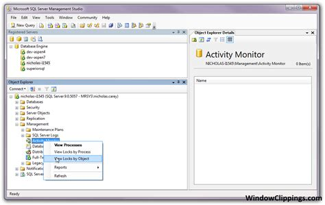 sql server lock how to find what is locking my tables sql codedump io