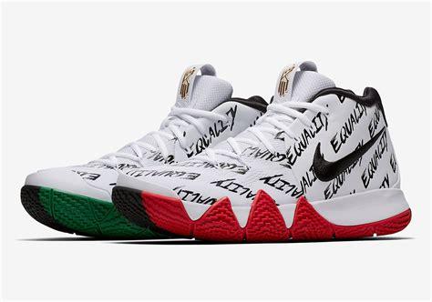 Sepatu Basket Adidas D 5 Nike Lebron Kyrie Ua nike kyrie 4 bhm equality aq9231 900 sneakernews