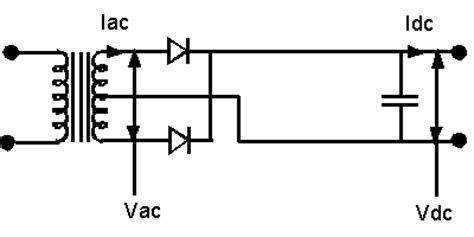 capacitor filter design for rectifier rectifier transformer calculation