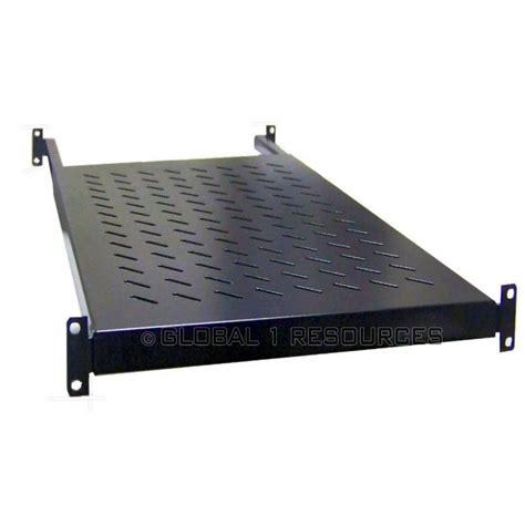 Data Rack Shelf by New Universal Server Shelf Adjustable 1u Rackmount Racks