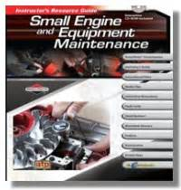 Small Engine And Equipment Maintenance Featuring Briggs