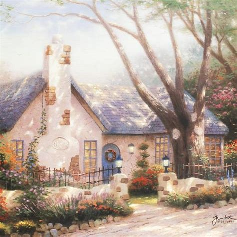 Kinkade Cottage Collection by Sports Memorabilia Auction Pristine Auction