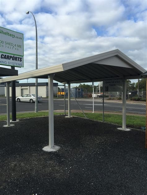 Gable Carport Formsteel Single Gable Carport G7236 Sheds And Shelters